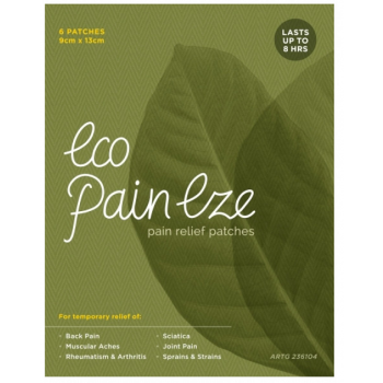 Eco Pain Eze Pain Relief Patches x6