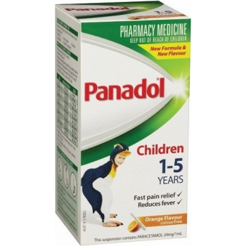 Panadol Children 1-5 Years Orange 100mL