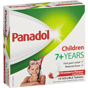 Panadol Children 7+ Years 16 Soluble Tablets