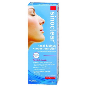 Sinoclear Natural Decongestant Spray 135ML