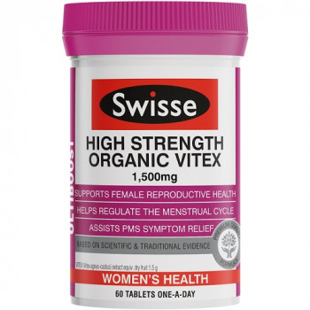 Swisse High Strength Organic Vitex 1500mg 60 Tabs