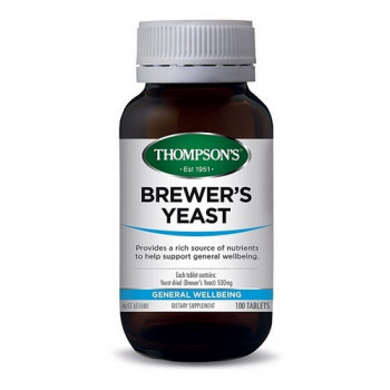 Thompsons Brewers Yeast 100 tablets