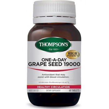 Thompsons One-A-Day Grape Seed 19000mg 60 tablets