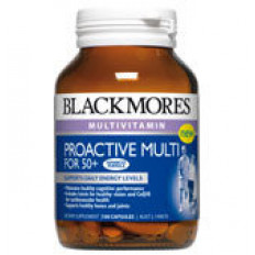 Blackmores Proactive Multi For 50+ CAPS 100