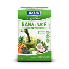 Bioglan SuperFoods Raaw Juice Powder Go Green 7x7g