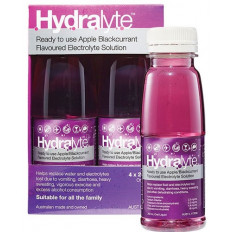 Hydralyte Ready to Use Apple Blackcurrant 4x250 mL