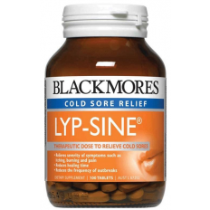 Blackmores Lyp-Sine Cold Sore Relief 100 Tablets