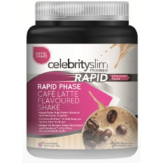 Celebrity Slim Rapid Shake 840g (21 Serves) Cafe Latte