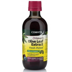 Comvita Olive Leaf Extract Children's Mixed Berry 200ml