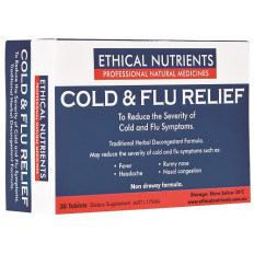 Ethical Nutrients Cold & Flu Relief 30 Tablets