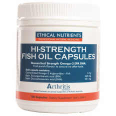 Ethical Nutrients Hi-Strength Fish Oil 120 Capsules