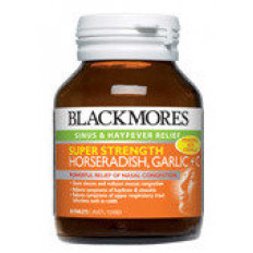Blackmores Super Strength Horseradish, Garlic +C 50 Tabs
