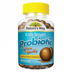 Nature's Way Kids Smart Probiotic Choc Balls X 50