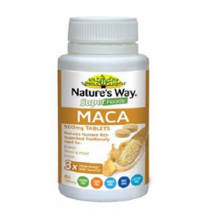 Nature's Way Superfoods Maca 60 Tablets