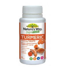Nature's Way Superfoods Turmeric 60 Tablets