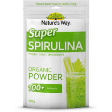 Nature's Way Super Spirulina Organic Powder 100g