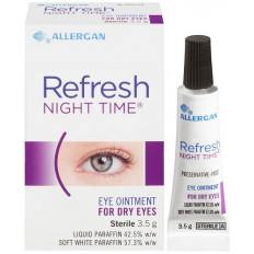Refresh Night Time Eye Ointment 3.5g