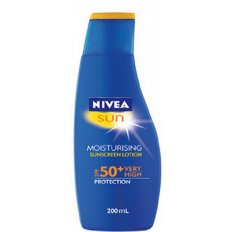 Nivea Sun Moisturing Sunscreen Lotion SPF 50+ Very High 200ml