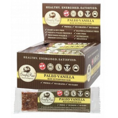 Simply Raw Paleo Vanilla Raw Superfood Bar 20 x 50g