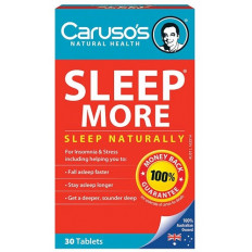Caruso's Sleep More Tabs x 30