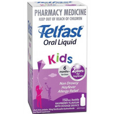 Telfast Children's Elixir Raspberry Flavour 150ML