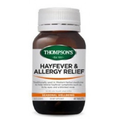 Thompsons Hayfever & Allergy Relief 60 Tablets