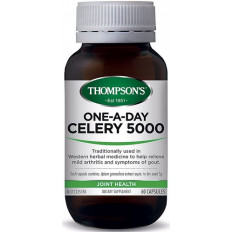 Thompsons One-A-Day Celery 5000mg 60 Capsules