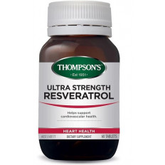 Thompsons Ultra Strength Resveratrol 60 tablets
