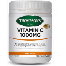 Thompsons Vitamin C 1000mg 150 chewable tablets