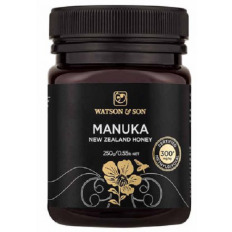Watson & Son Manuka New Zealand Honey MGO 300+ 250G