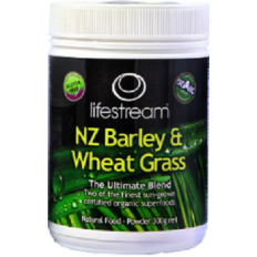Lifestream Barley and Wheat Grass Powder 300g
