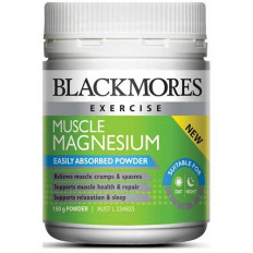 Blackmores Muscle Magnesium Powder 150GM