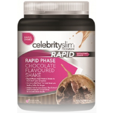 Celebrity Slim Rapid Shake 840g (21 Serves) Chocolate