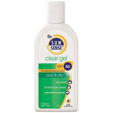 Ego Sunsense Clear Gel SPF 50 125mL
