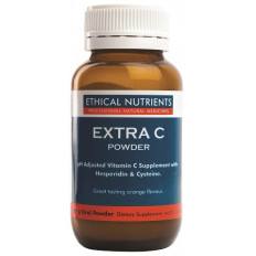 Ethical Nutrients Extra C Powder Orange Flavour 100g