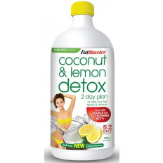 FatBlaster Coconut and Lemon Detox 2 Day Plan 750mL