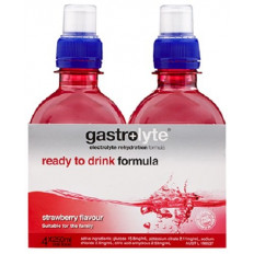 Gastrolyte Ready to Drink Formula (Strawberry) 250mL x 4
