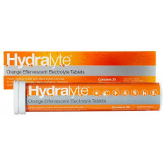 Hydralyte Effervescent Tablets Orange 20