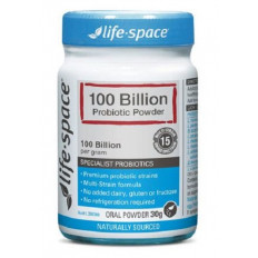 Life Space 100 Billion Medicated Probiotic Powder 30 grams