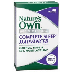 Nature's Own Complete Sleep Advanced 30 Tablets