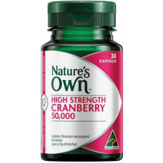 Nature's Own High Strength Cranberry 50,000 30 Caps