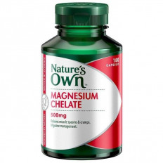 Nature's Own Magnesium Chelate 500mg 180 Caps