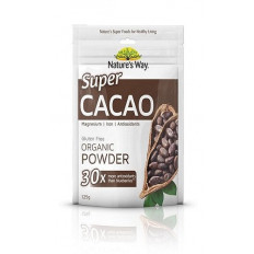 Nature's Way Super Cacao Organic Powder 125g