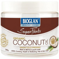 Bioglan Superfoods Organic Coconut Oil Virgin Cold Pressed 300g