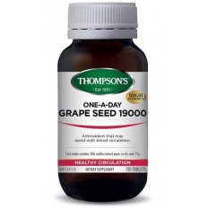 Thompsons One-A-Day Grape Seed 19000mg 120 tablets