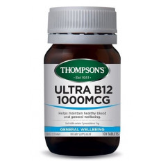 Thompsons Ultra B12 1000mcg 100 tablets