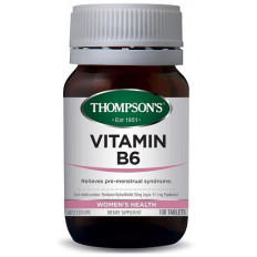 Thompsons Vitamin B6 50mg 100 tablets