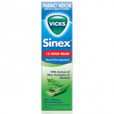 Vicks Sinex Aloe Nasal Decongestant 15ml