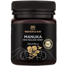 Watson & Son Manuka New Zealand Honey MGO 200+ 250G