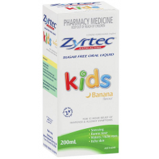 Zyrtec Children Oral Solution Banana Flavour  1Mg/Ml 200Ml